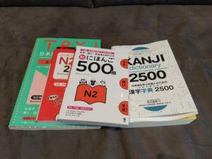 Books for learning japanese